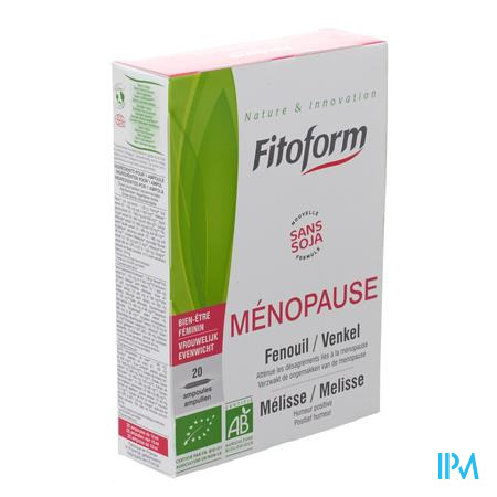 Menopause Bio Amp 20x10ml Holistica