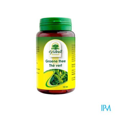 Fytobell Groene Thee 180 tabletten