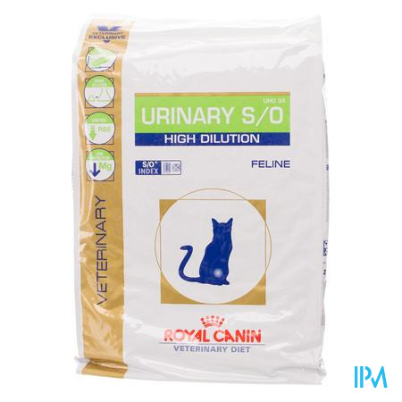 Vdiet Urinary High Dilution Feline 7kg
