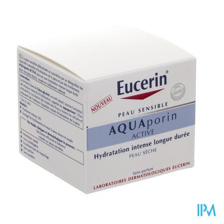 Afbeelding Eucerin Aquaporin Active Intensief en Langdurig Hydraterende Crème voor Droge Huid 50 ml .