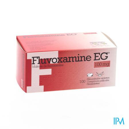 Fluvoxamine EG 100 mg Comprimés Pellicules 100