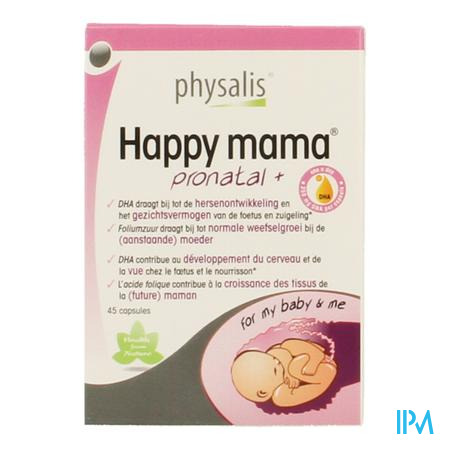 Happy Mama Pronatal+ 45 capsules