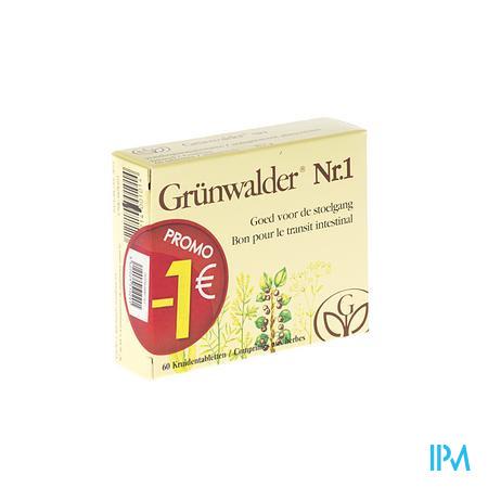 Grunwalder Nr1 Promo -1€ 60 comprimés