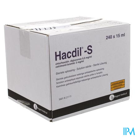 Hacdil-s 240x15 ml Unit Dose