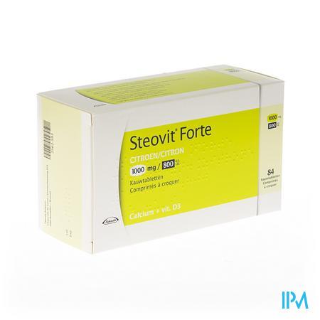 Steovit Forte 1000mg/800ie Kauwtabl 84