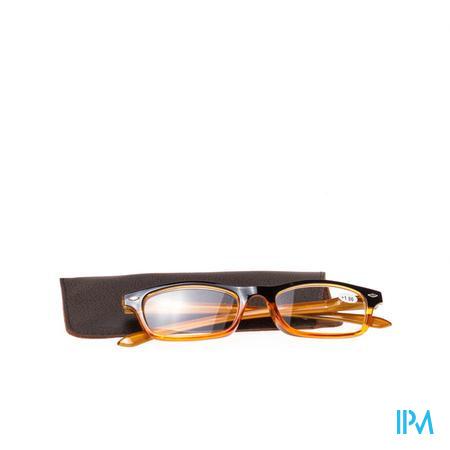 Pharma Glasses Leesbril Geel +1 1 stuk