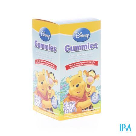 Disney Multivit Kind Winnie The Pooh 60 capsules