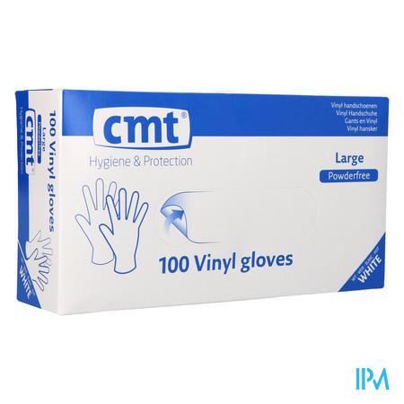 Cmt Handschoenen Vinyl Z/poeder l 100