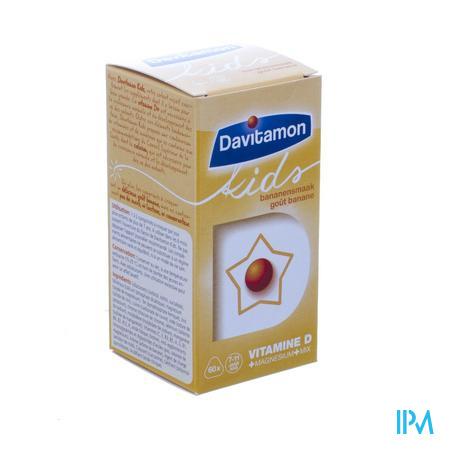 Davitamon Kids Banaan V1 Comp 60