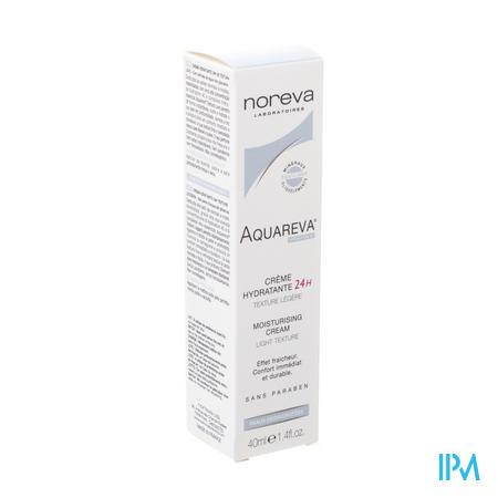 Aquareva Creme Hydra 24u Textuur Licht Tube 40ml