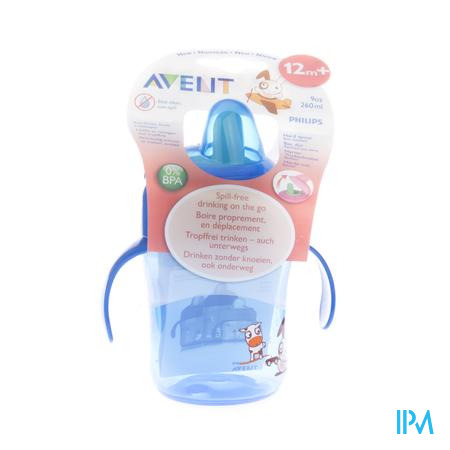 Avent Drinkbeker Anti-Lek 260ml 1 stuk