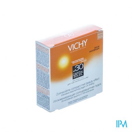 Afbeelding Vichy Capital Soleil Compacte Zonnecrème met SPF 30 Zandbeige 9 g .