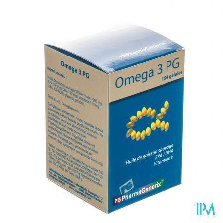 Omega 3 Pg Pharmagenerix Capsule 150