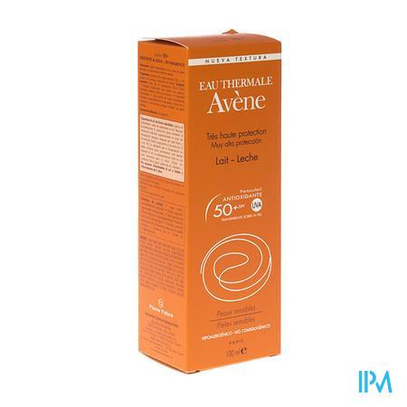 Avene Lait Solaire Spf50+ 100 ml