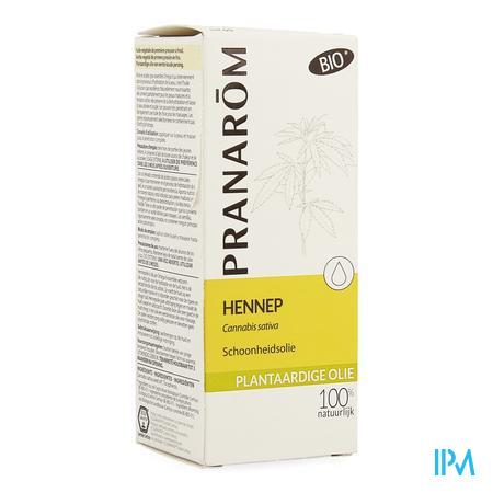 Hennep Plantaardige Olie Fl 50ml Pranarom