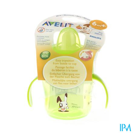 Avent Drinkbeker 200 Ml Anti-Lek +6m