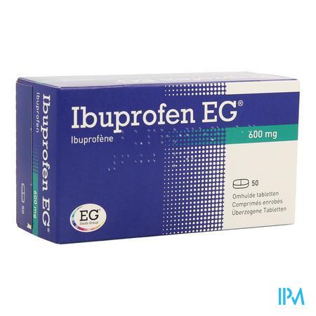 Ibuprofen Eg 600mg Filmomh Tabl 50 X 600mg