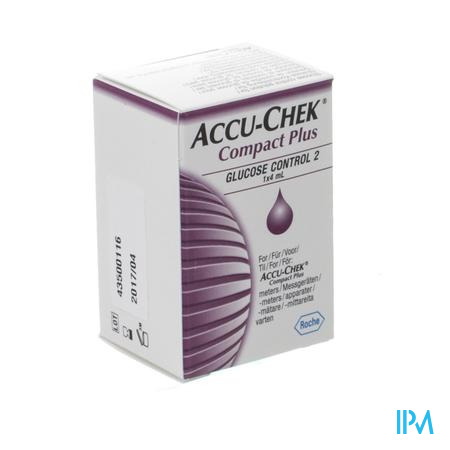 Accu Chek Compact Autocontrol Solution 1x4ml