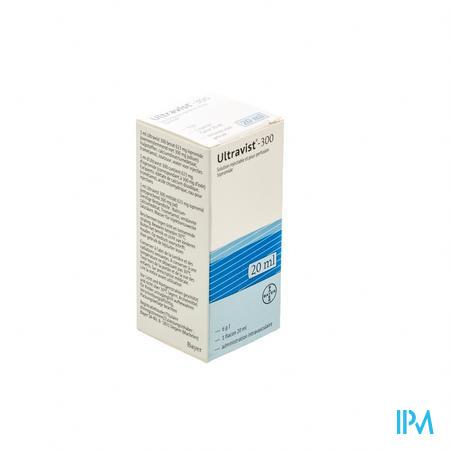Ultravist 300 Fl Inj 1 X 20ml