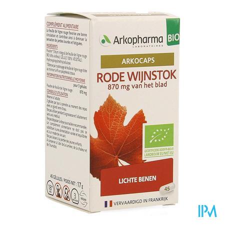 Arkocaps Rode Wijnstok Bio Caps 45 Nf
