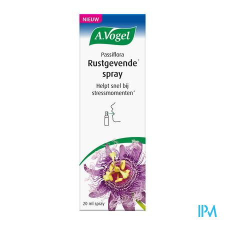 A.Vogel Passiflora Spray Rustgevend 20ml