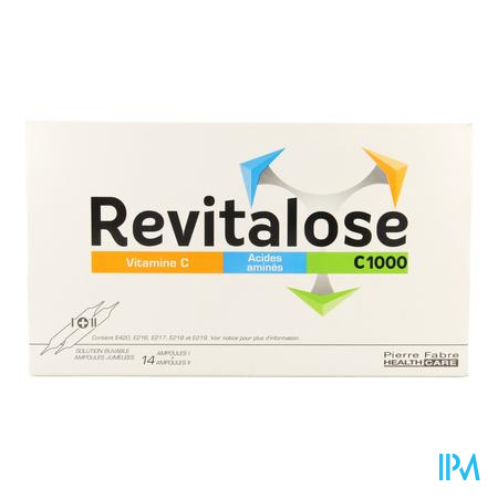 Revitalose C 1000 Ampoule Solution Orale 14 X (i+ii)