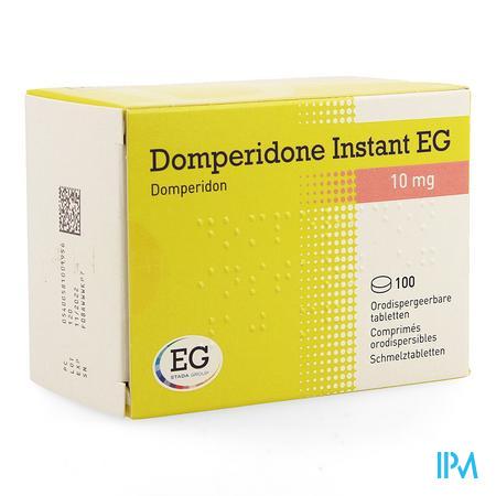 Domperidone Instant Eg Orodisp Tabl 100 X 10mg