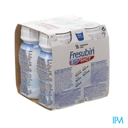 Fresubin 5 Kcal Shot Neutraal 4 x 120 ml