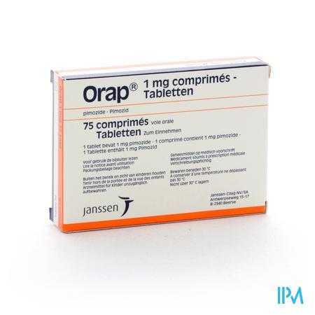 Orap Comp 75 X 1mg
