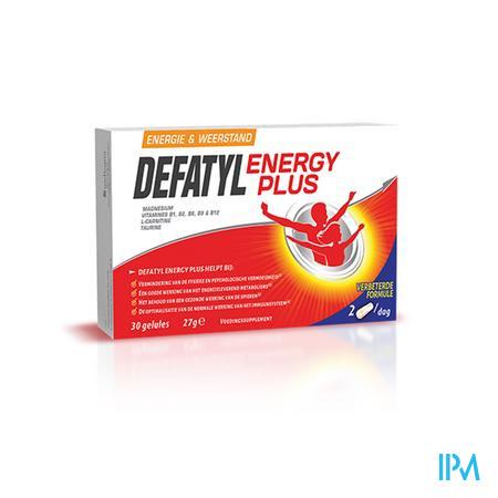 Afbeelding Defatyl Energy Plus 30 caps.