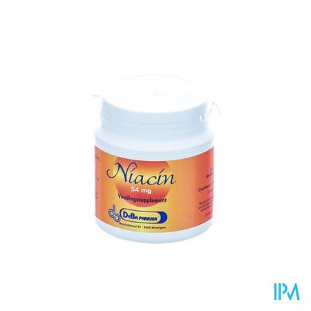 Niacine Deba 54mg 90 capsules