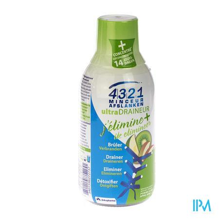 4321 Minceur Draineur Pomme-Kiwi 280 ml