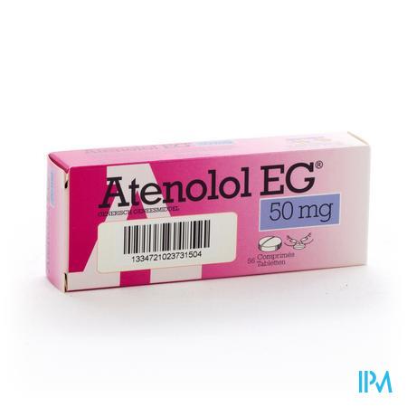 Atenolol Eg Comp 56x 50mg
