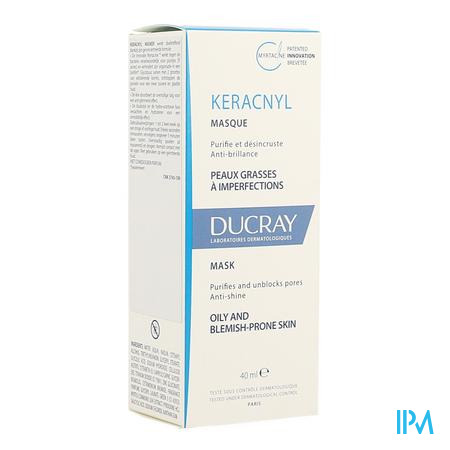 Ducray Keracnyl Masker 40ml Nf