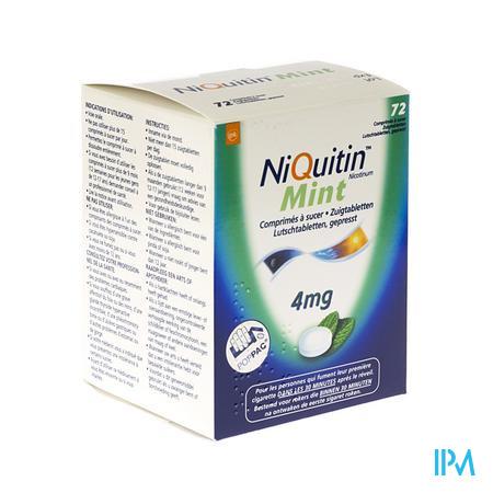 Niquitin Mint 4,0mg Comp A Sucer 72