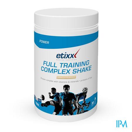 Afbeelding Etixx Full Training Complex Shake met Vanillesmaak 1 kg.