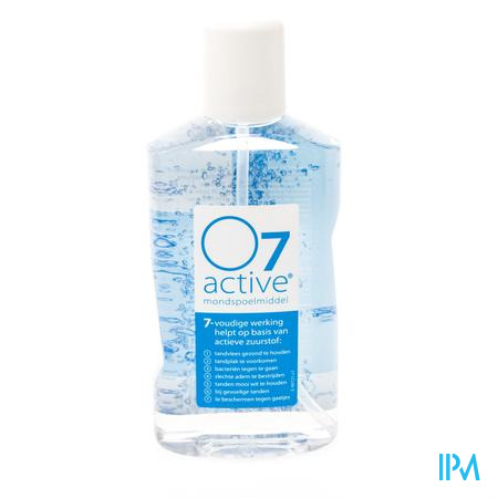 O7 Active Fresh & Clean Mondwater 500 ml