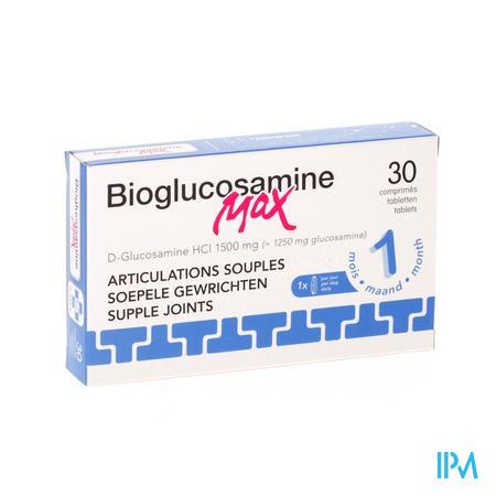 Bio-Glucosamine Max 1500mg Sans Mn 30 comprimés