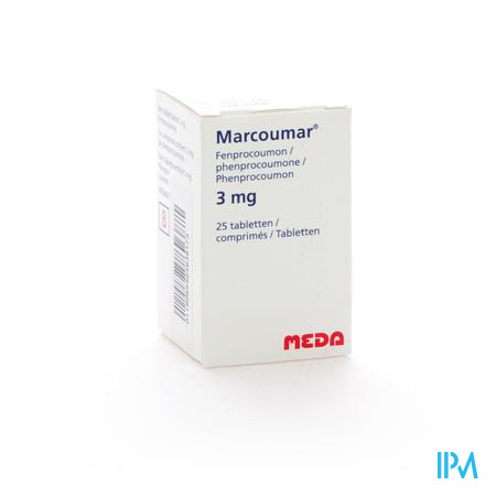 Marcoumar Comp 25 X 3mg