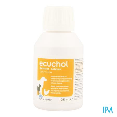 Ecuchol Oplossing Oraal 125ml