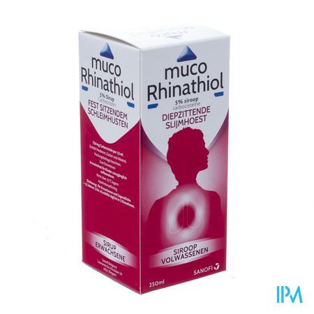 Muco Rhinathiol 5% Siroop Ad 250 ml