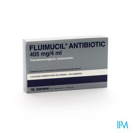 Fluimucil Antibiotic Fl3+Ampule 3topic