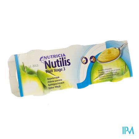 Nutilis Fruit Stage 3 Pomme 3x150g