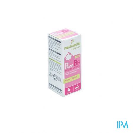 Pranarom PranaBB Confort Digestif Huile De Massage 10 ml