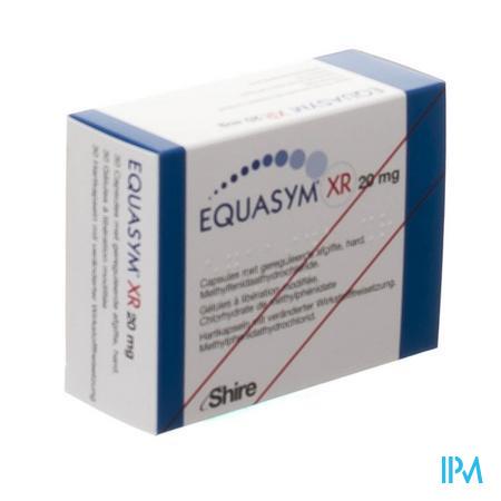 Equasym Xr 20mg Caps Gereguleerde Afgifte 30