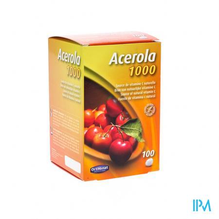 Orthonat Acerola 1000 100 tabletten