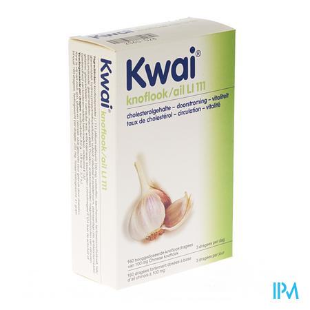 Afbeelding Kwai Knoflook voor Circulatie in de Bloedvaten en Zware Benen 160 Tabletten .