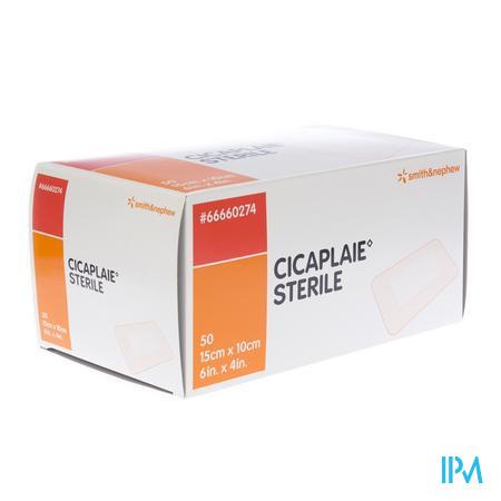 Cicaplaie Steriel 10cm x 15cm 50 stuks