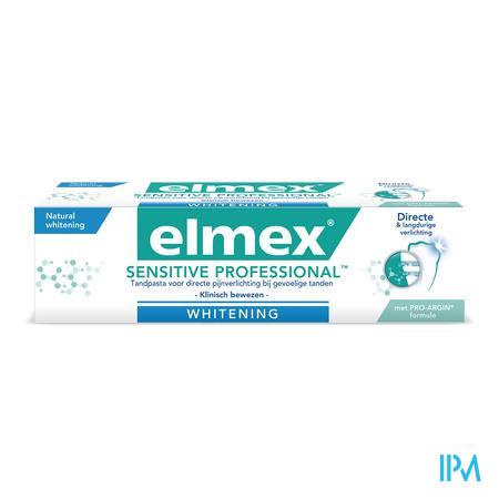 Elmex Gevoelige Tanden Tandpasta Witmakende Formule 75 ml