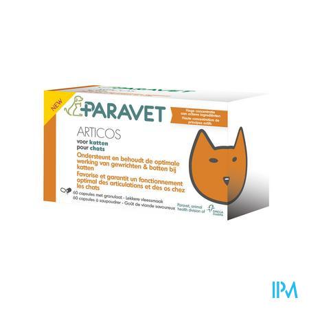Afbeelding Paravet Articos Kat 60 kauwtabletten.